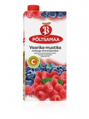 Põltsamaa Vaarika-mustika maitsega mitmeviljanektar 1 L