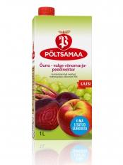 Põltsamaa Õuna-valge viinamarja peedinektar 1 L